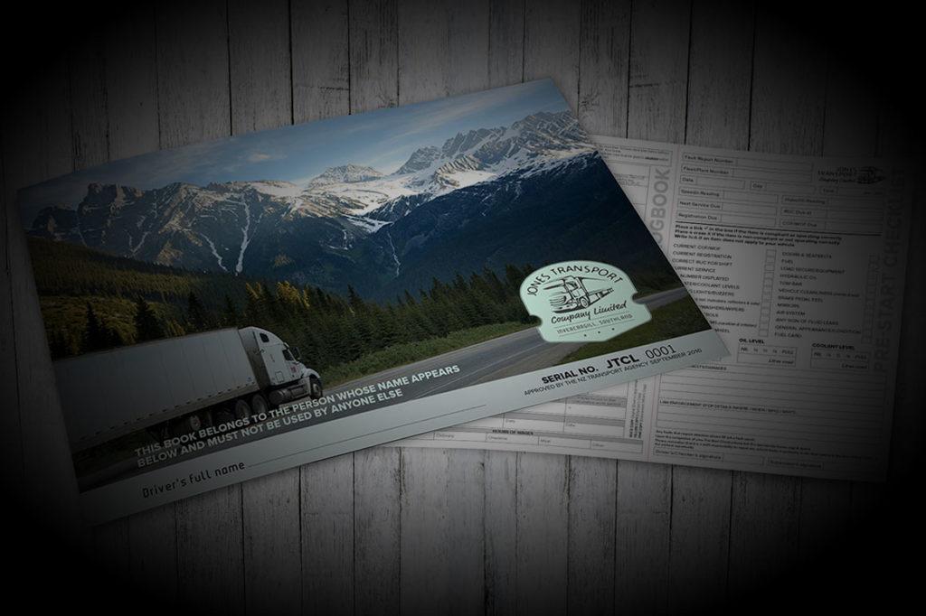 Jones Transport logbook