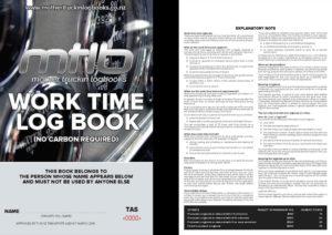 TAS A5 Worktime Logbook